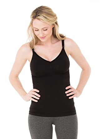 bf3ef97e769e06 Seamless Drop Cup Nursing Cami at Amazon Women s Clothing store