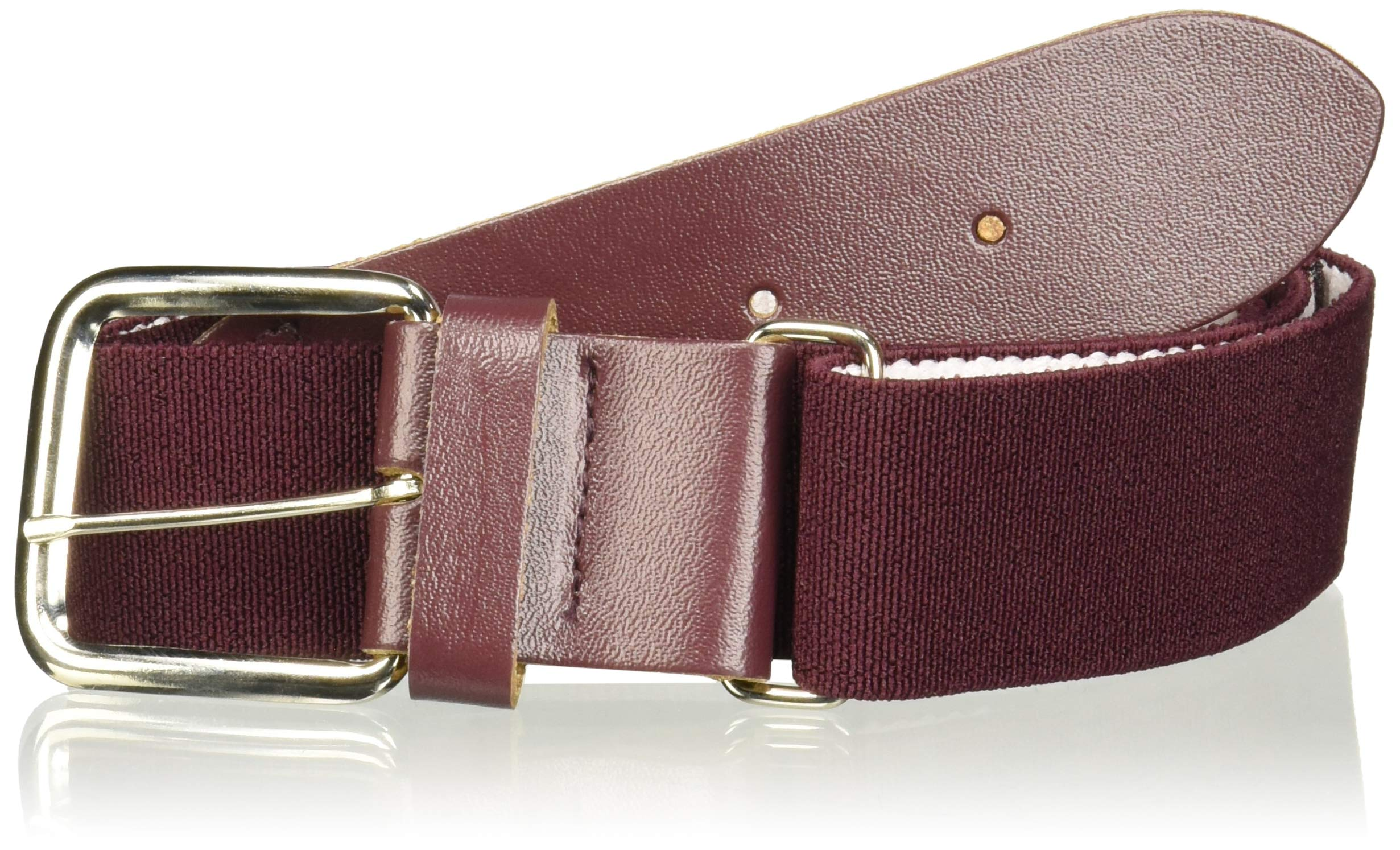 Champro Elastic Baseball Belt with 1.5-Inch Synthetic Tab (Maroon, 28-52-Inch)