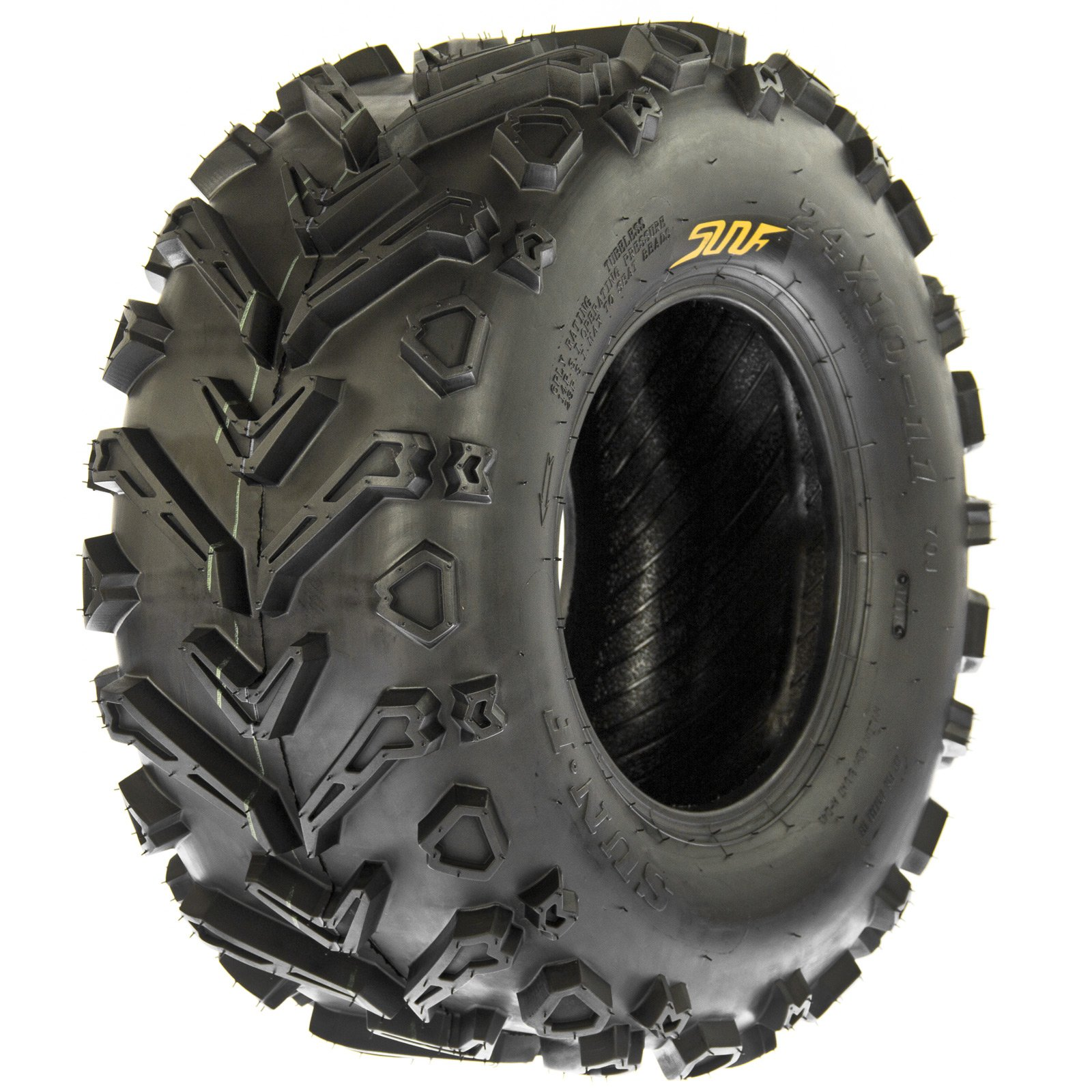 SunF A041 Mud Trail ATV/UTV Tire 24x10-11 , 6-PR