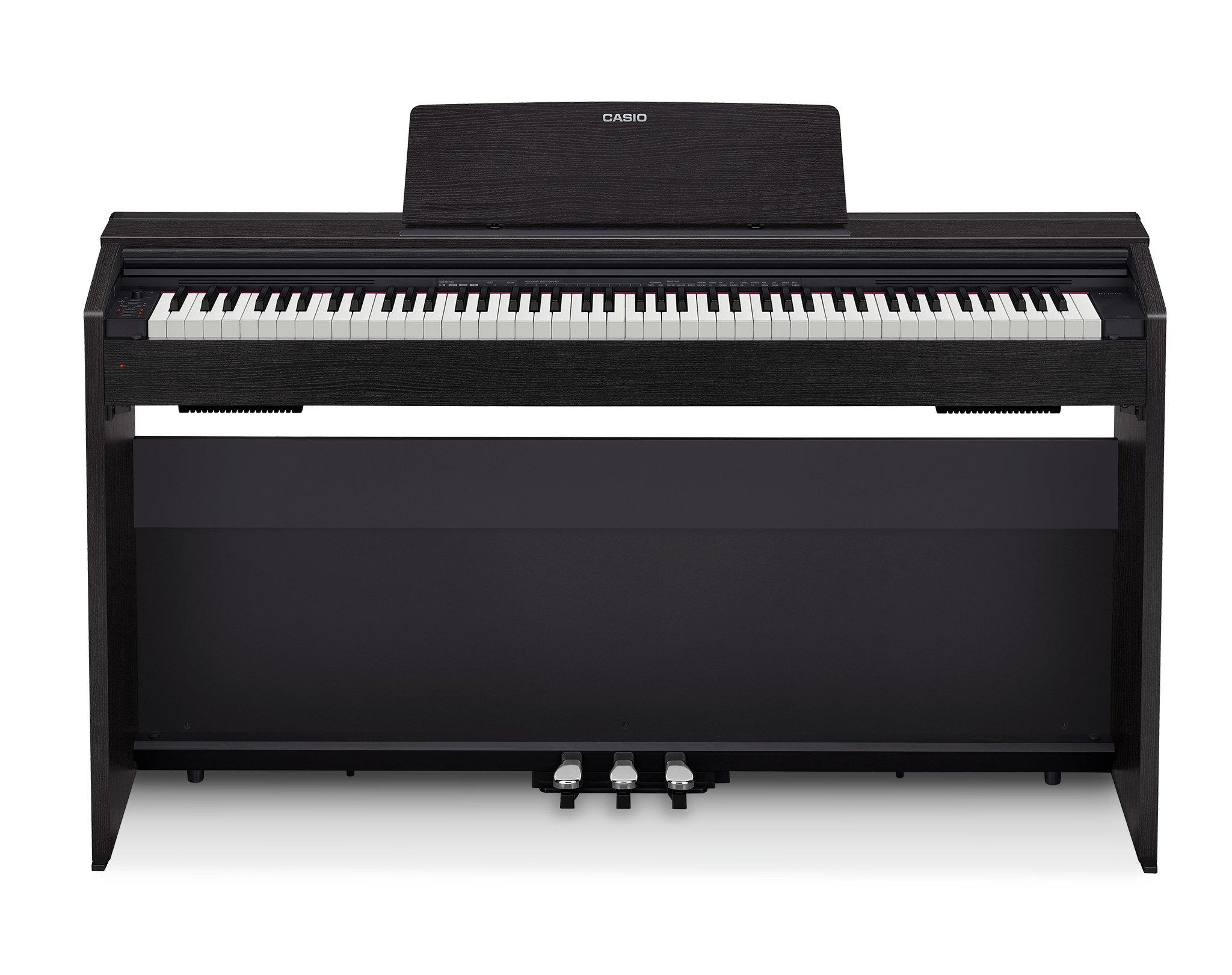 Casio PX-870 BK Privia Digital Home Piano, Black by Casio