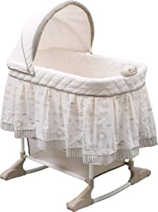 Delta Children Rocking Bedside Bassinet