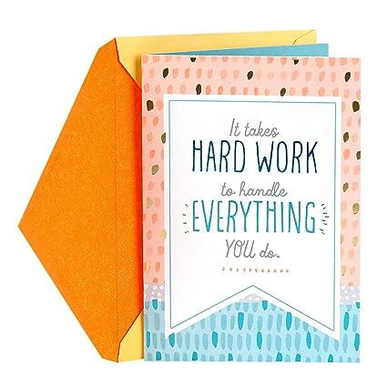 Amazon hallmark administrative professionals day greeting card hallmark administrative professionals day greeting card your hard work is appreciated m4hsunfo Image collections
