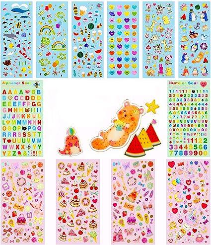 6 sheets rainbow christmas stickers// DIY planner decorative sticker scrapbook
