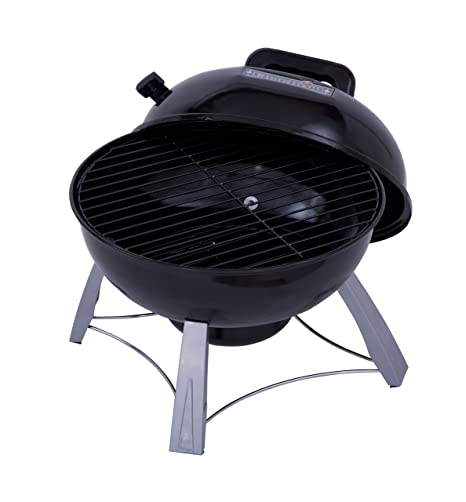 Char Broil (13301719) Portable Kettle Charcoal Grill, Black
