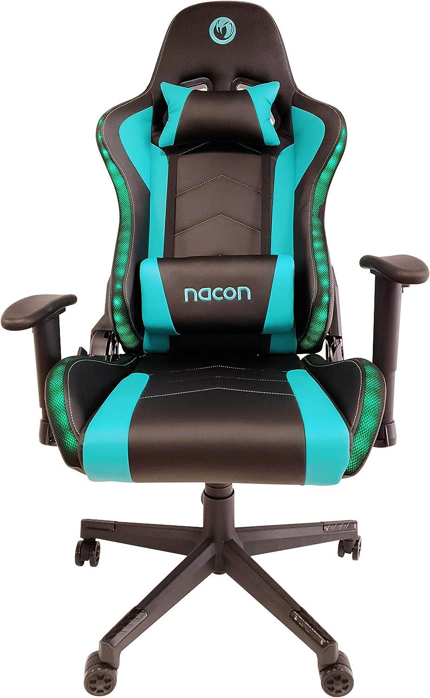 Nacon - Silla gaming profesional con luz 650RGB