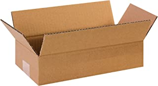 """product image for Partners Brand P1263 Long Corrugated Boxes, 12""""L x 6""""W x 3""""H, Kraft (Pack of 25)"""