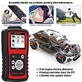 KZYEE KC301 Code Reader, Car OBD2 Scanner with Live Data Diagnostic Service Scan Tool for Check Engine Light Reset