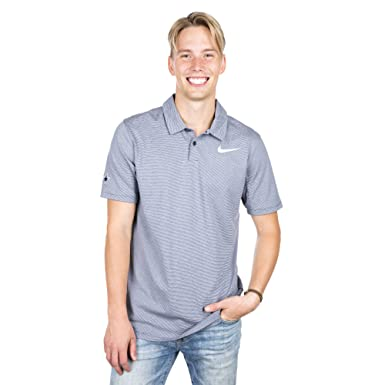 6a9cc376a Image Unavailable. Image not available for. Color  Dallas Cowboys Nike Dry  Control Stripe Polo ...