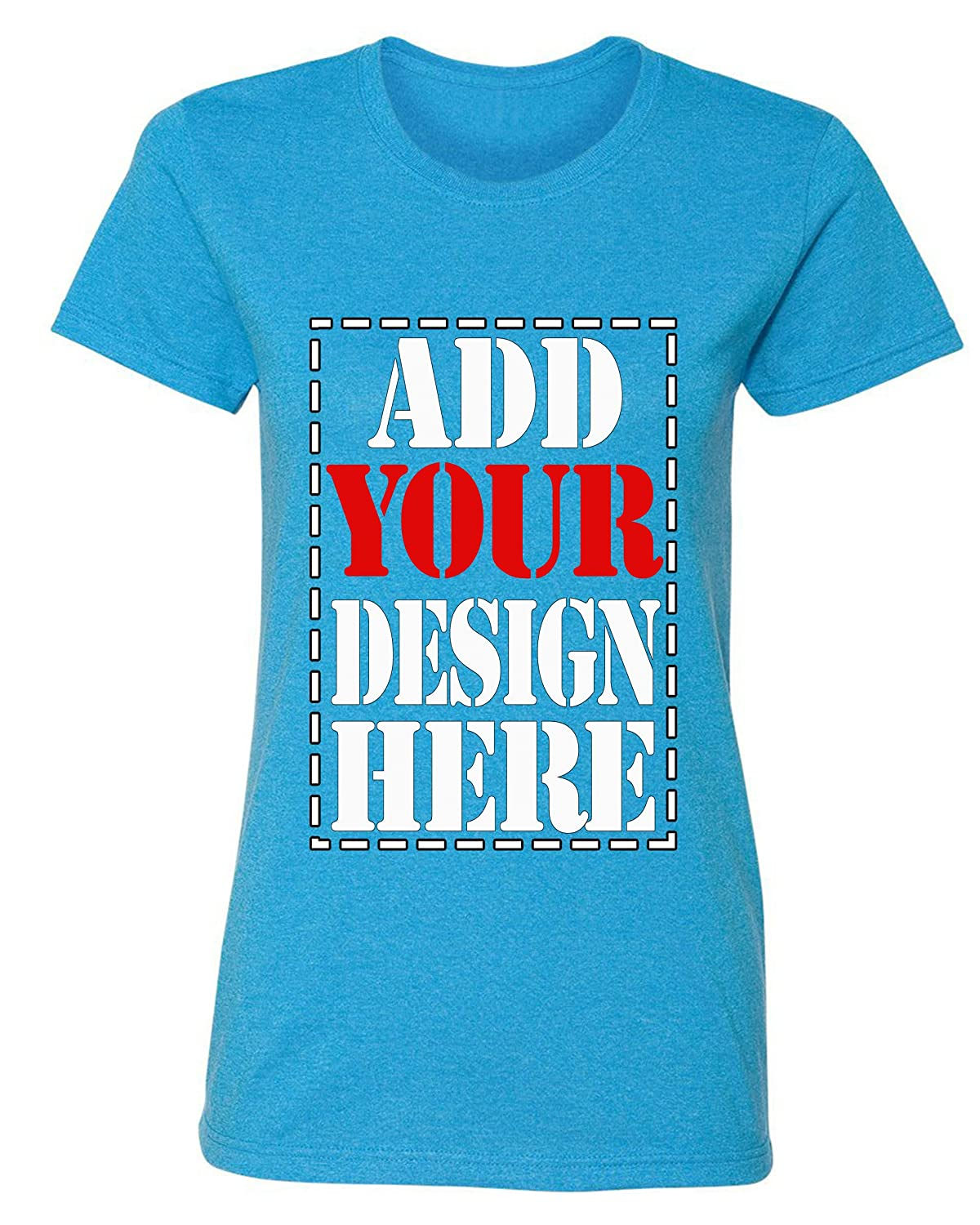 54632e54 Amazon.com: Design Your OWN Shirt Customized T-Shirt - Add Your Picture  Photo Text Print - Women Tee (Slim Fit): Clothing
