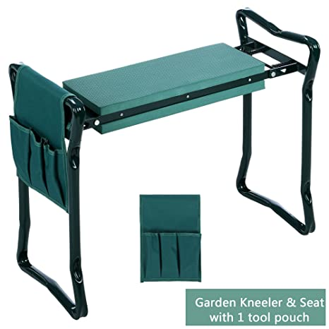 Amazoncom Garden Kneeler Seat Bench Heavy Duty Sturdy and