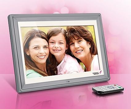 Amazoncom Aluratek Asgk410b 10 Digital Photo Frame With 4gb