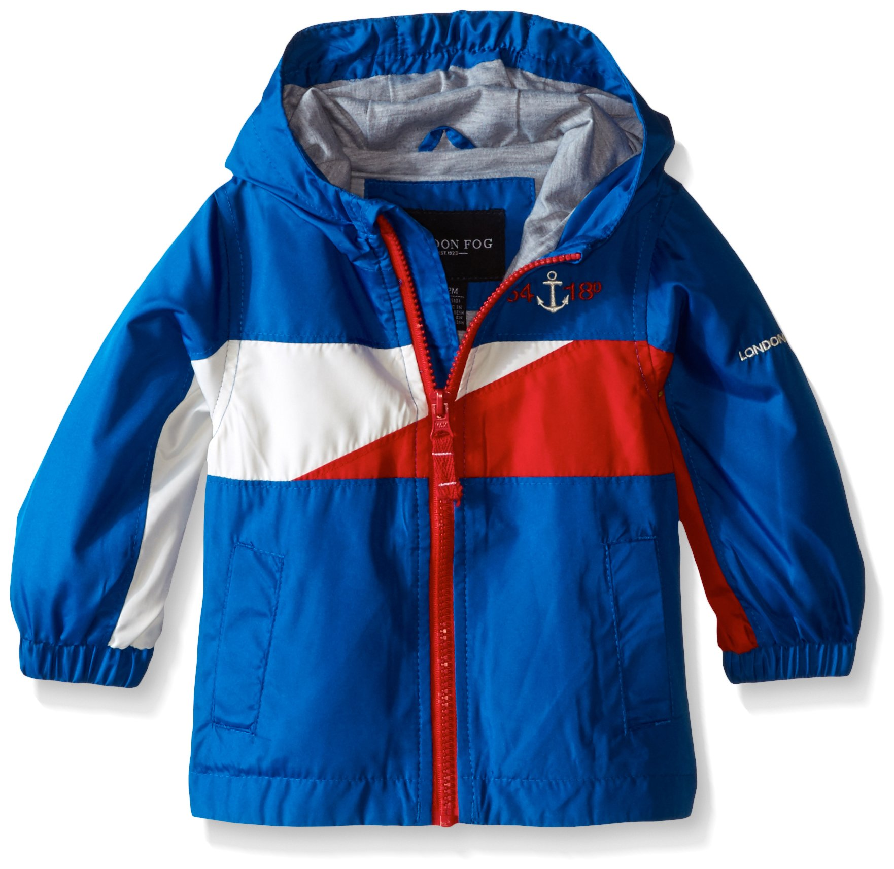 London Fog Baby-Boys Lightweight Jersey Lined Jacket Blue 12 Months 4