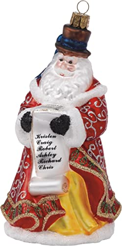 Waterford Holiday Heirlooms Checking It Santa