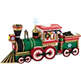 Department 56 North Pole Series Village Northern Lights Express Engine Accessory, 2.17-Inch