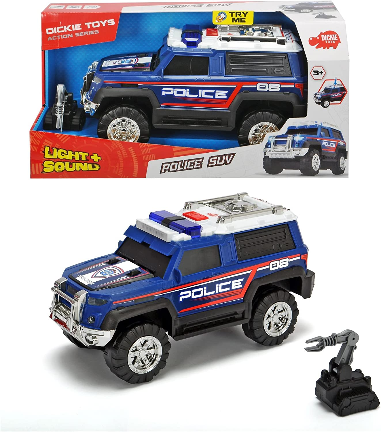 Dickie 203306008 SUV Police Car Toy, Multi Colour: Amazon.co