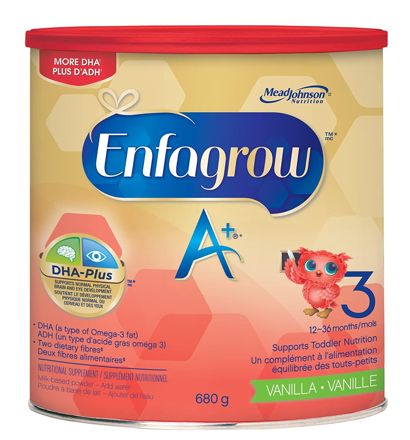 Enfagrow A+ milk flavour ready to drink, 237ml (pack of 6)