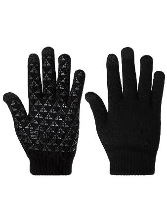 Winter stricken Handschuhe Dicke Warme Touchscreen Stricken ...