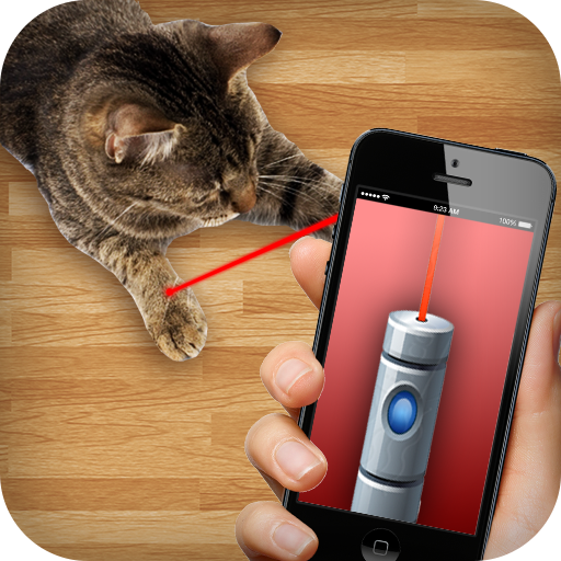 Laser For Cats: New Prank (Stock Laser)