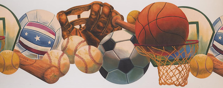 Retro Art Tenis fútbol bola canasta guante bate de béisbol ...