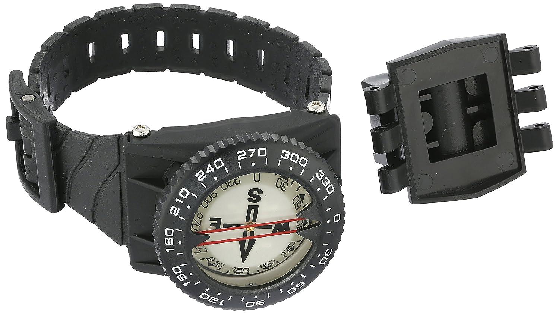 Promate Handgelenk Kompass mit Schlauch Halterung, Schwarz