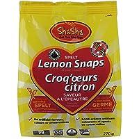 Shasha Co Organic Spelt Lemon Snap Cookie Bags,270.0 grams