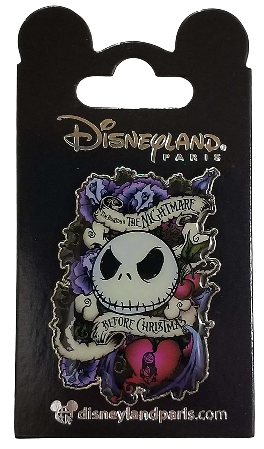 Disneyland Paris Pin - The Nightmare Before Christmas - Jack and Sally