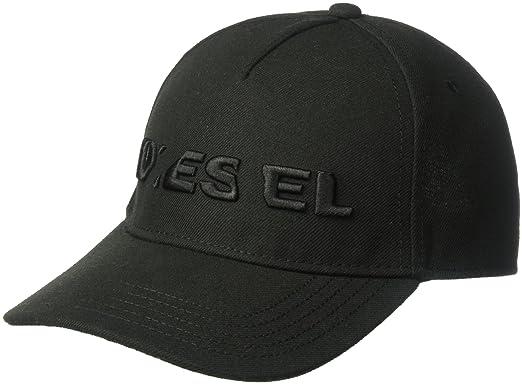 Mens Chinus-D Baseball Cap, Schwarz (Black 0DAPC), One Size Diesel