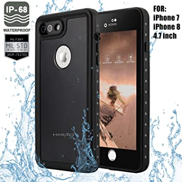 Amazon.com: hmiao iPhone 7/8 resistente carcasa submarina ...