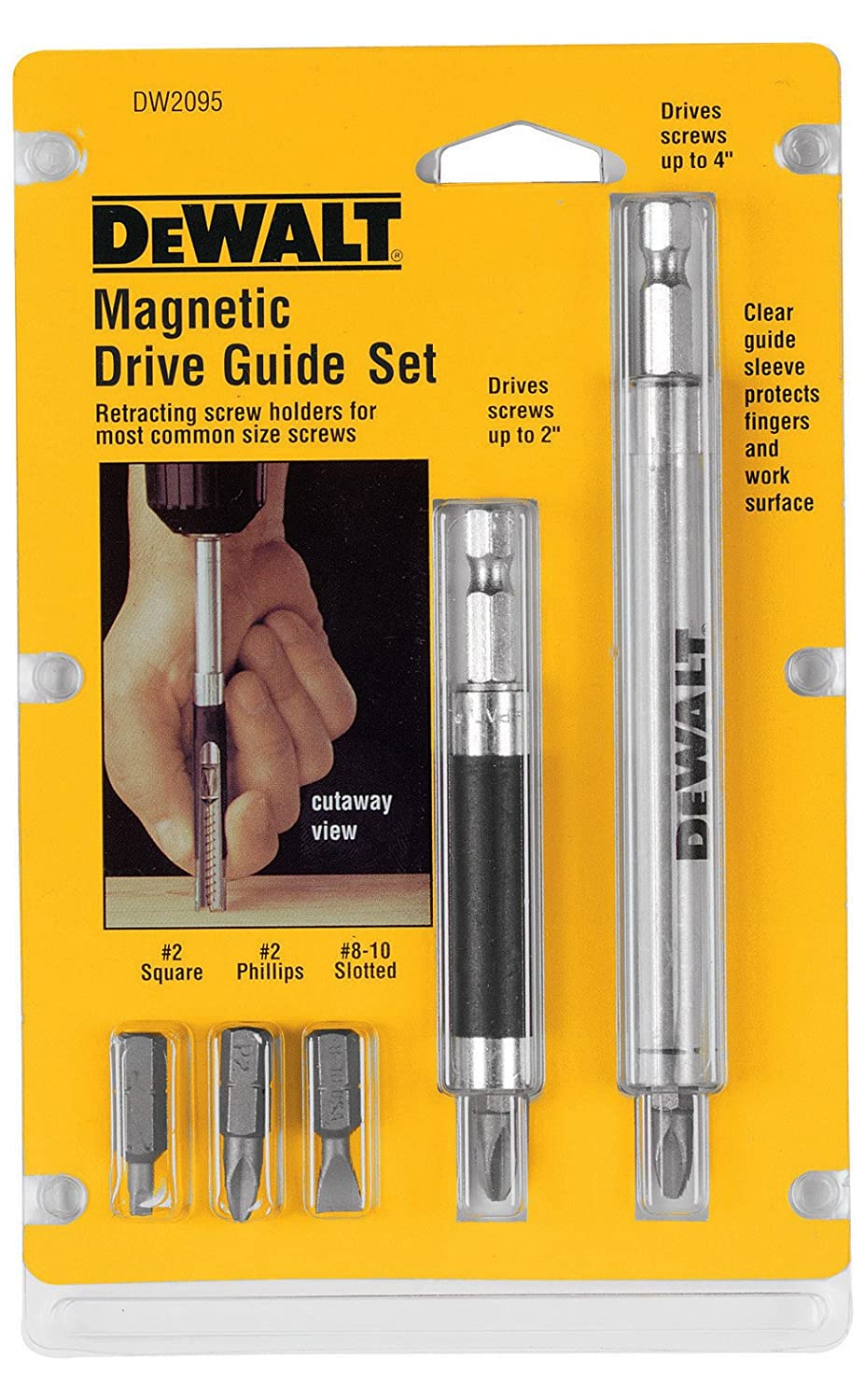 DEWALT DW2095 Drive Guide Set