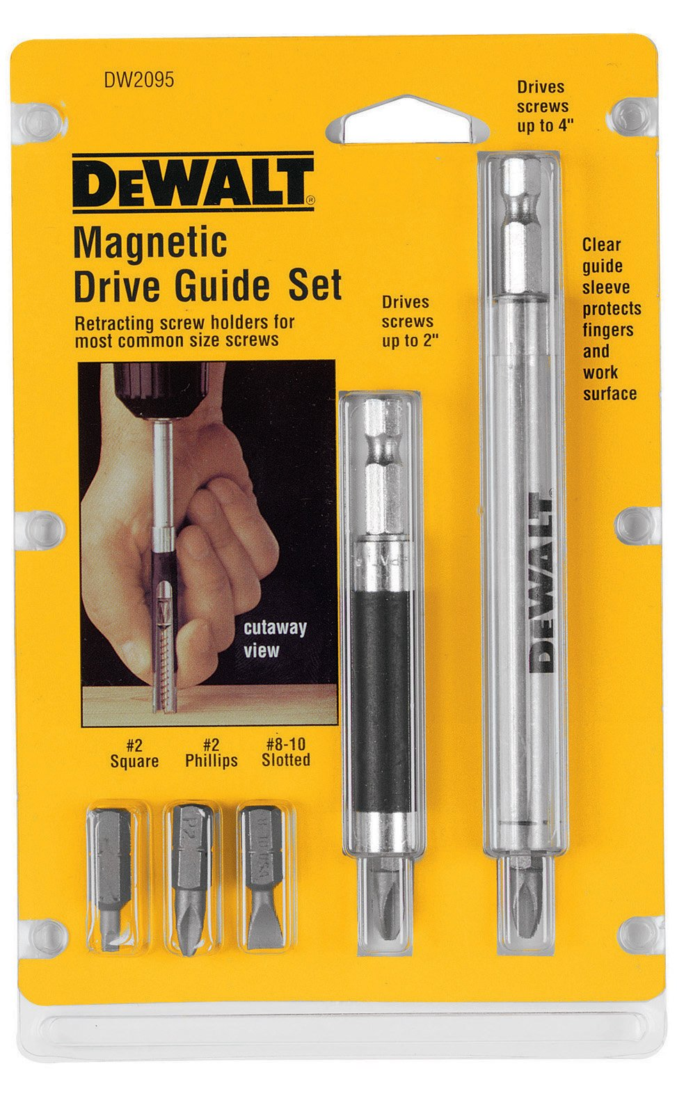 DEWALT Bit Set with Magnetic Drive Guide (DW2095)
