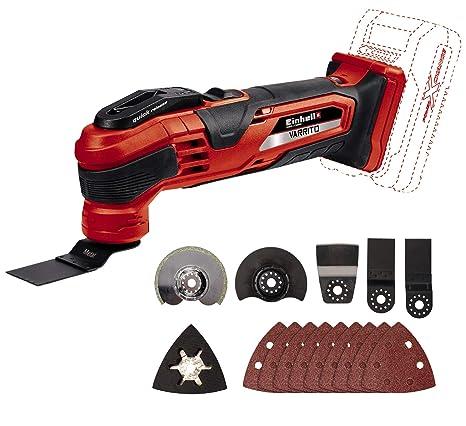 Einhell 2347120 Aspiradora de mano Negro Rojo tiempo de carga: 60 Minutos 4512042 Kit con Cargador y bater/ía de repuest