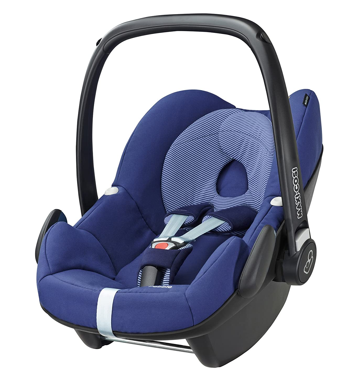 Maxi-Cosi Pebble, Silla de coche grupo 0+, azul (River Blue ...
