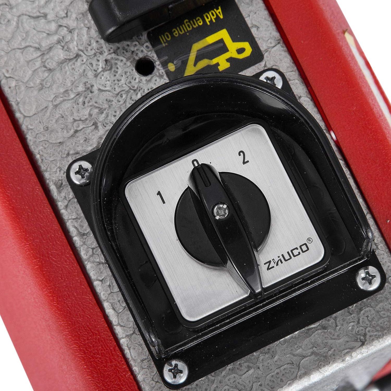 Cueffer M/áquina El/éctrica de Limpieza de Drenaje 220V 250W//700W M/áquina de Dragado de Tuber/ías M/áquina de Limpieza de Alta Presi/ón Desbloqueador de Ducha Q100AA