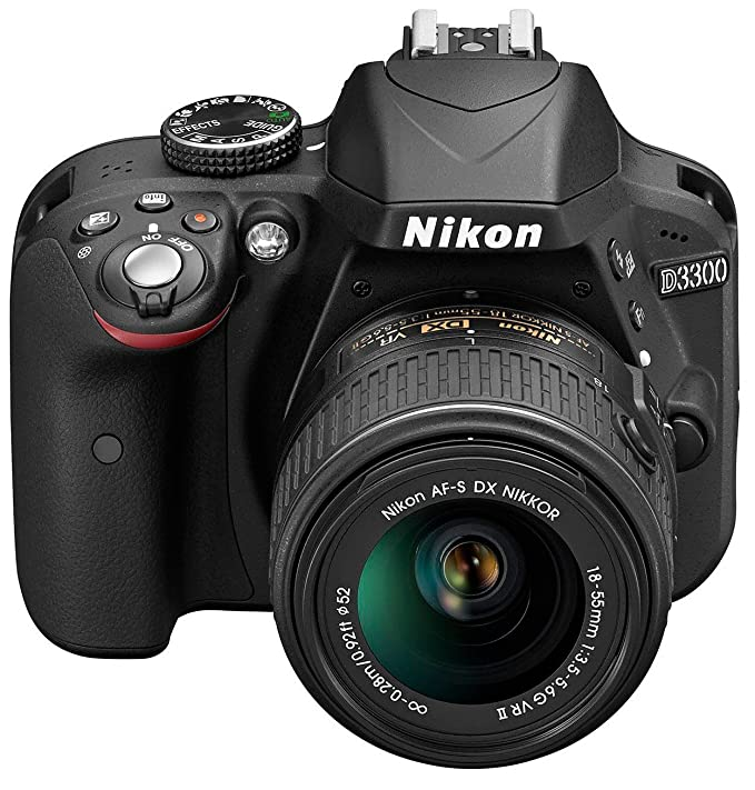 Nikon D3300 - Cámara réflex digital de 24.2 Mp (Pantalla 3 ...