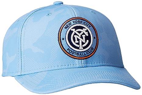306219540c8 ... ebay mls new york city fc adult men mls sp17 fan wear tonal camo  structured adjustable