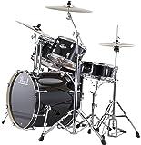 Pearl EXX725/C 5-Piece Export Standard Drum Set with Hardware - Jet Black