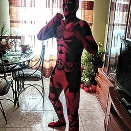 Morphsuits Disfraz de Disfraz básico de Deadpool Oficial ...