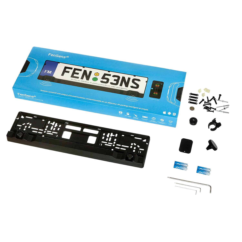 FenSens sensor de aparcamiento inteligente sin cables, 100% inalámbrico, fácil instalación, disponible para iOS y Android: Amazon.es: Electrónica