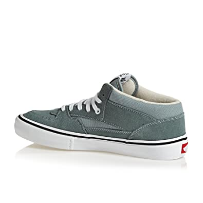 f04f289c4a Vans Men s Half Cab Pro Goblin Blue White Goblin Blue White 8 UK  Buy  Online at Low Prices in India - Amazon.in