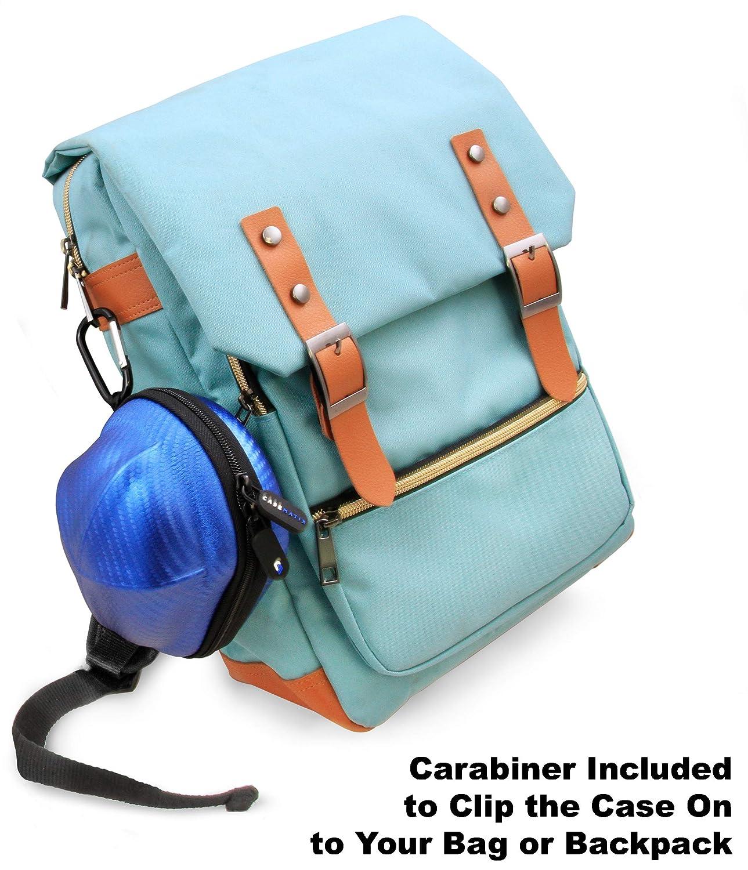 Amazon.com: CASEMATIX Carbon Fiber Blue Gaming Mouse Travel ...