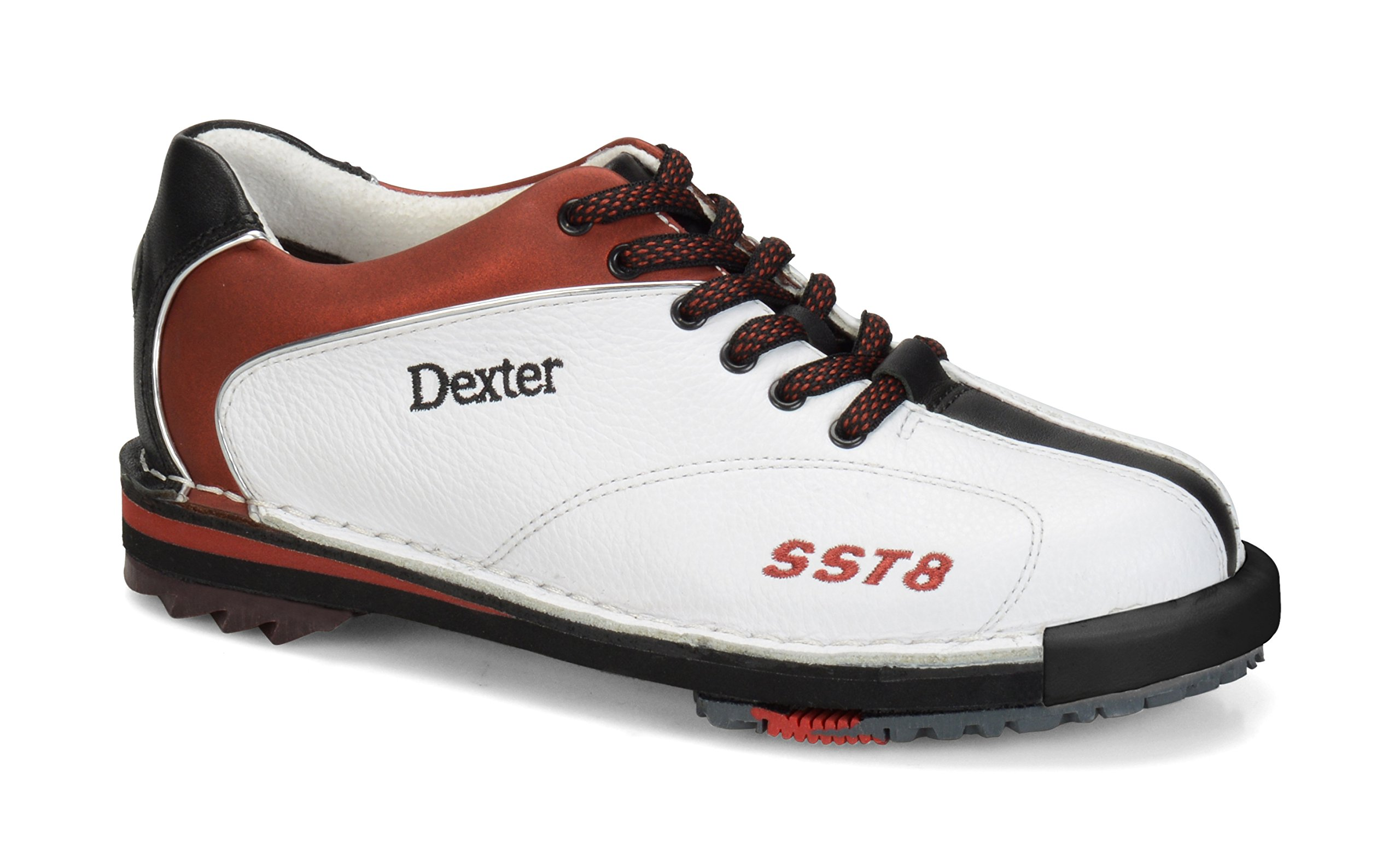 Dexter Women's SST 8 LE Wide Bowling Shoes, White/Red/Black, 7.0 by Dexter