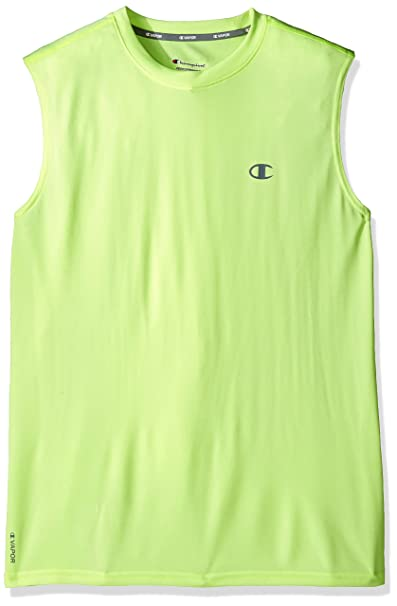 9ee14512c4d94 Champion Men s Double Dry Heather Muscle Tee with FreshIQ at Amazon Men s  Clothing store