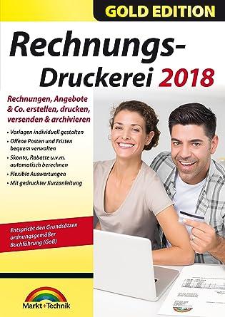 Rechnungsdruckerei 2018 Rechnungen Angebote Mahnungen