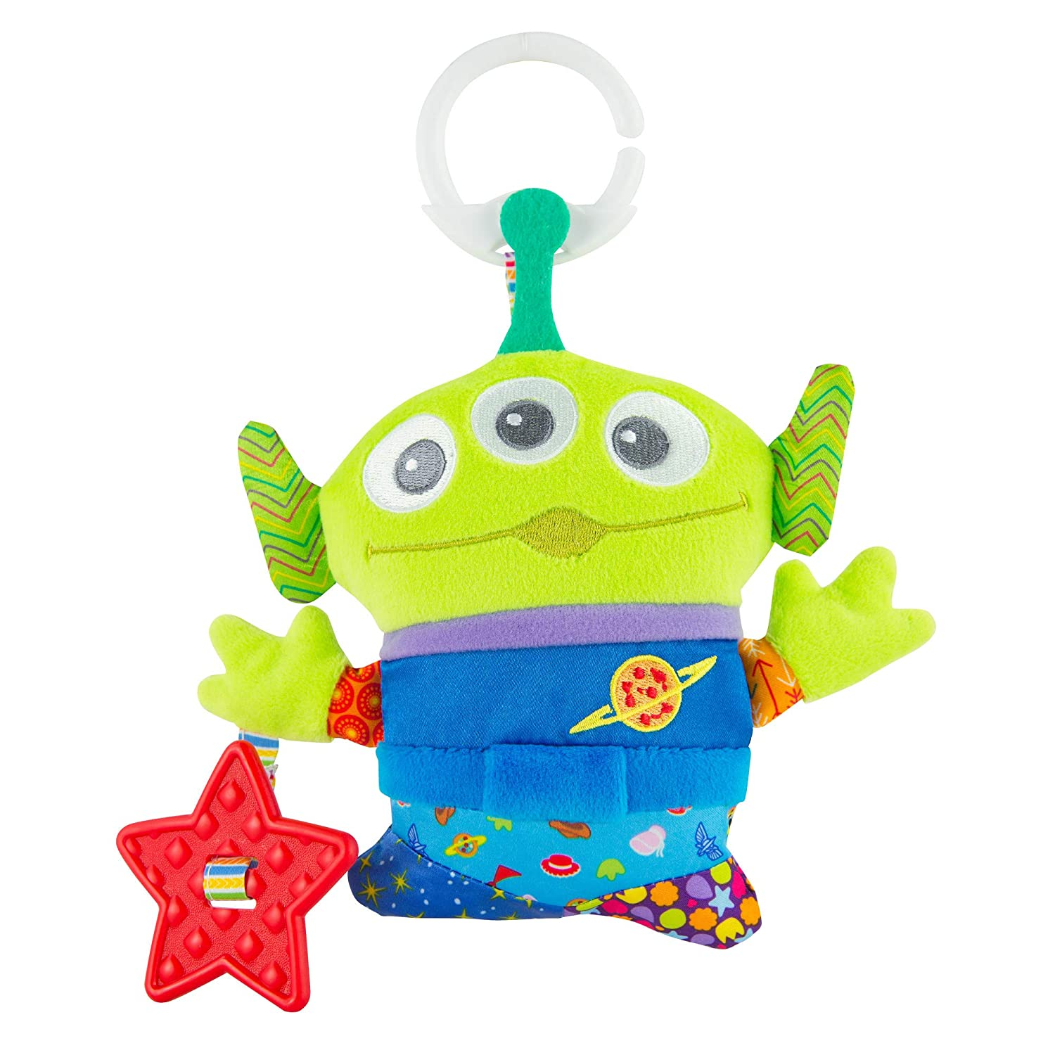 Disney Toy Story Alien Stretchie Sleeper and Hat for Baby Size 3-6 MO Multi