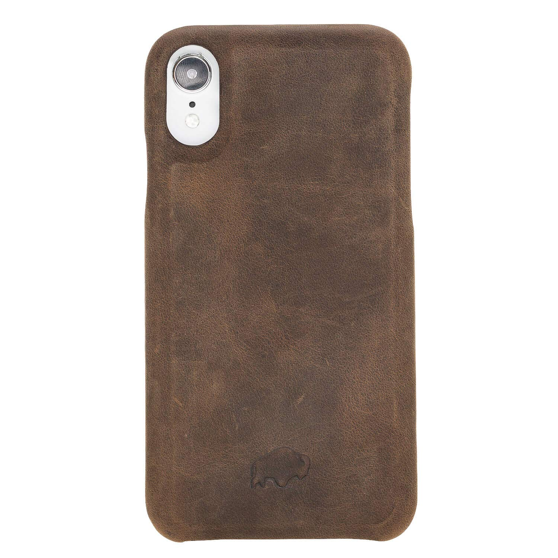 Amazon.com: Burkley - Funda para iPhone XR (piel sintética ...