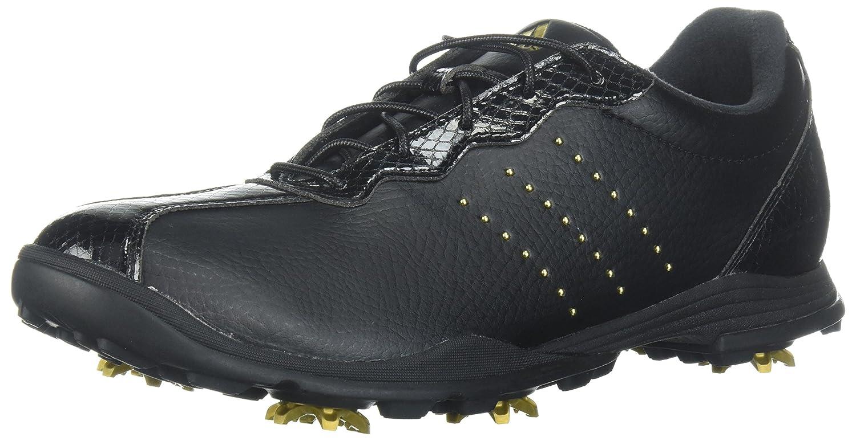 adidas Women's W Adipure DC Golf Shoe B072JB7XWH 6.5 B(M) US|Core Black/Gold Met./Core Black