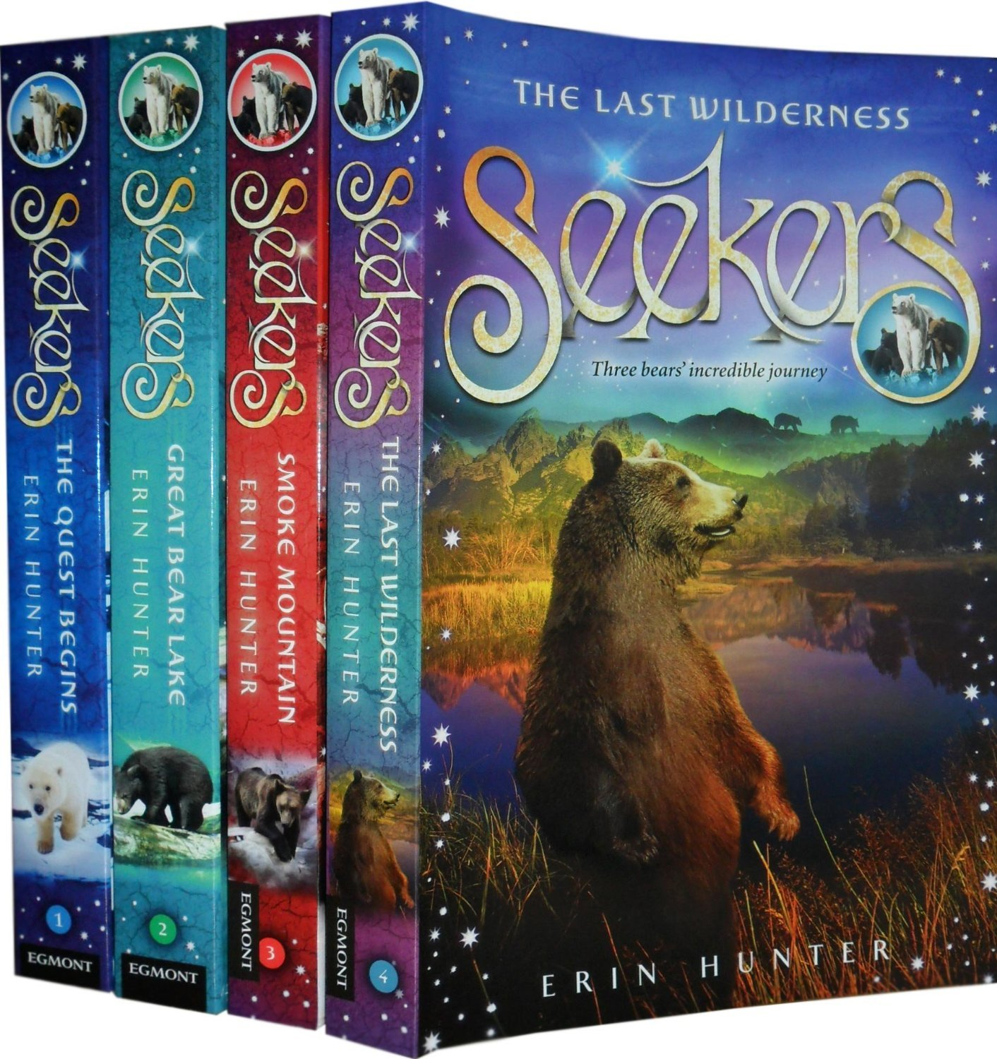 Warriors Erin Hunter Book Review: Seekers Series Gallery