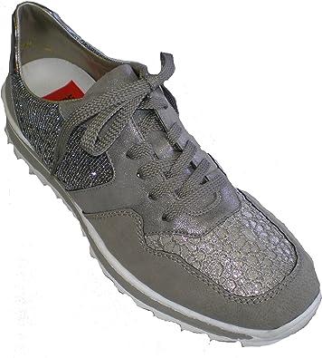 Rieker M6915 42 femme Sneaker: : Chaussures et Sacs