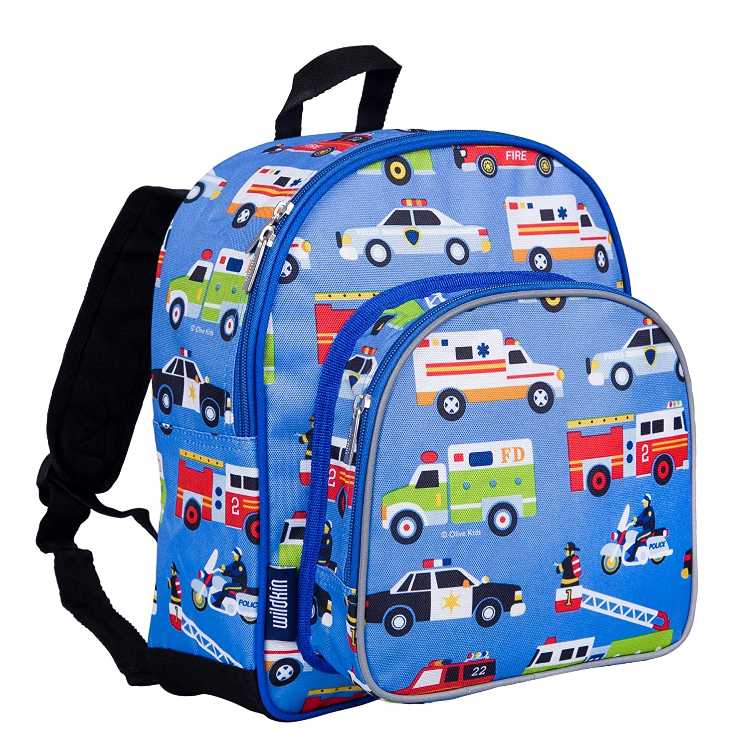 Wildkin Toddler Backpack-Action Vehicles 92df9d923981e