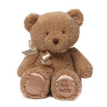 Baby GUND My First Teddy Bear Stuffed Animal Plush In Brown 10quot